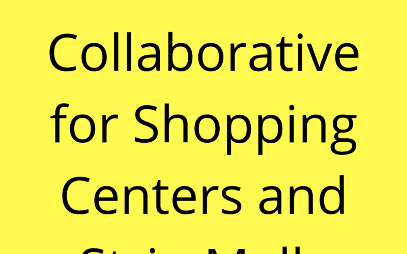 CRE Collaborative for Shopping Centers and Strip Malls