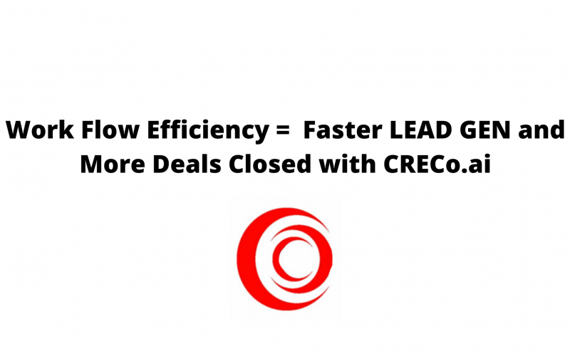More LEAD GEN and closing deals with CRECo.ai