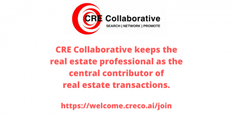 CRE Collaborative keeps the real estate professional as the central contributor of real estate transactions.